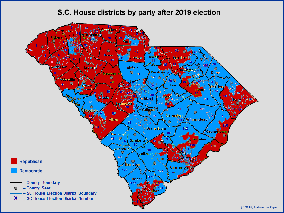Statehouse Report – 11/23: Interesting maps